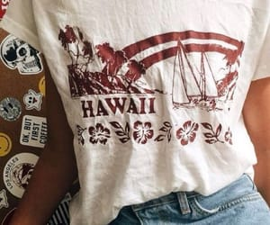 outfit, style, and hawaii image