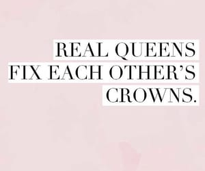 quotes, crown, and pink image