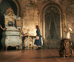 beauty and the beast, belle, and bibliophile image