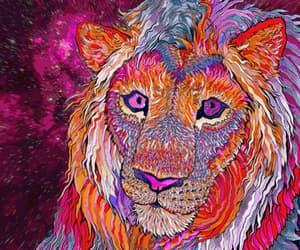 colors, la, and psicodelic image