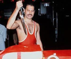 Freddie Mercury, icon, and music image
