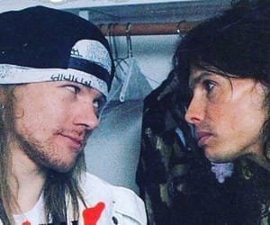 aerosmith, axl rose, and steven tyler image