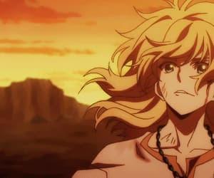 anime, fight, and akatsuki no yona image