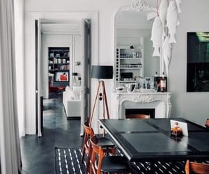 chic, interior, and bohemian image