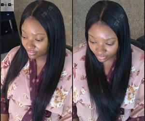 hair extensions, lace closure, and hair bundles image