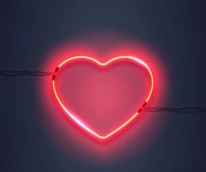 heart, keanu reeves, and neon sign image