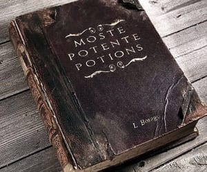 book, potion, and harry potter image