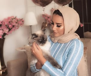 beauty, cat, and chic image