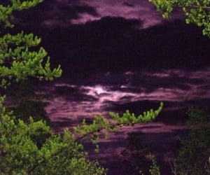 666, goth, and moon image
