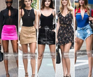 bombshell, outfits, and models image