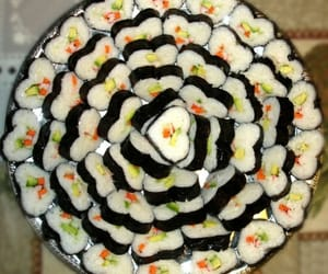 sushi, aesthetic, and color image