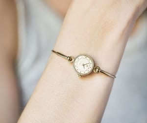 etsy, gold jewelry, and montre femme image