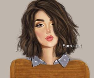 art and girly image