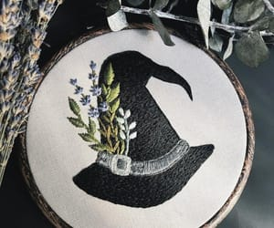 embroidery, hat, and ️ouat image