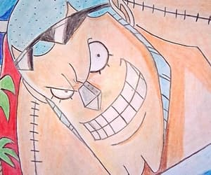 onepiece and franky dibujo fanart image