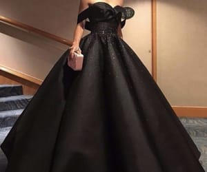 black, fancy, and dress image
