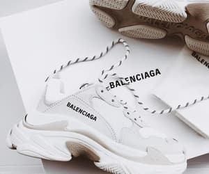 Balenciaga, nails, and shoes image