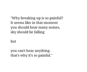 quotes, pain, and sad image