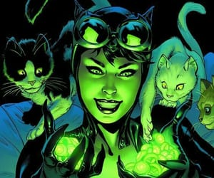 catwoman and cat image