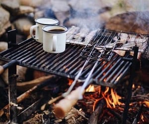 adventure, autumn, and camping image