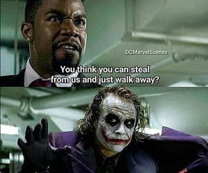 dark knight, DC, and heath ledger image