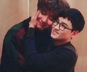 chansoo and chanyeol and kyungsoo image