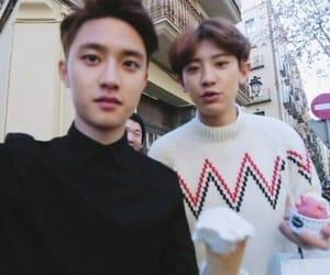 chansoo and kyungsoo and chanyeol image