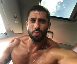 Hot, la, and muscle image