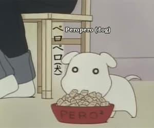 anime, dog, and food image