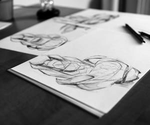 art, cali, and drawing image