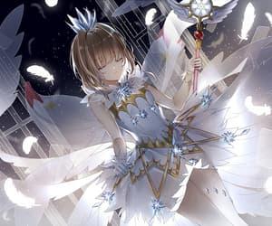 anime, card captor, and sakura kinimoto image