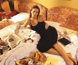 kate moss, model, and breakfast image