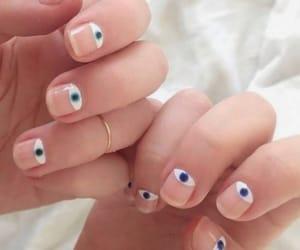 nails, eyes, and art image