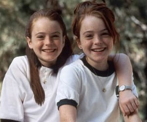 lindsay lohan, twins, and movie image