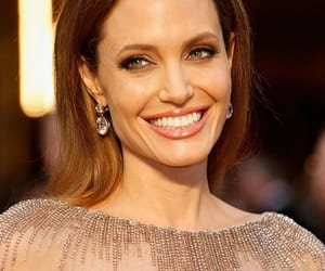 angelina, jolie, and smile image