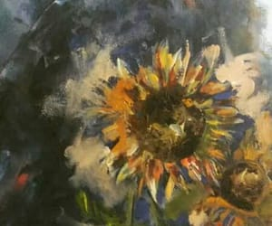 art, flower, and desen image