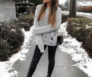 outfit, travel, and style image