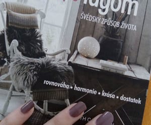 book, lagom, and nails image