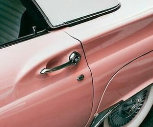 cars, rosegold, and peach image