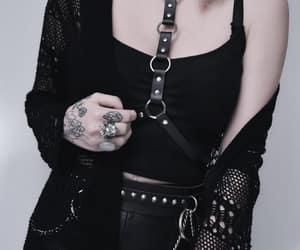 black, dark, and dark fashion image