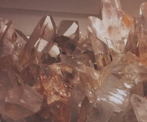 aesthetic, crystal, and beige image