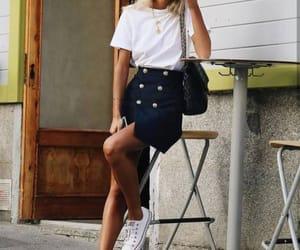 fashion, chic, and girls image