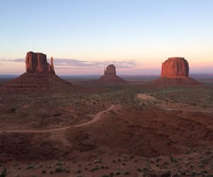 monument valley, nature, and Road Trip image