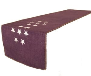 table runners, burlap table runners, and jute table runner image