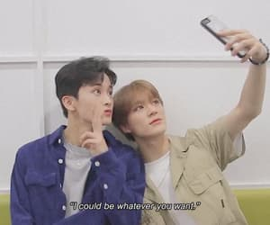 love quote, mark lee, and nct image