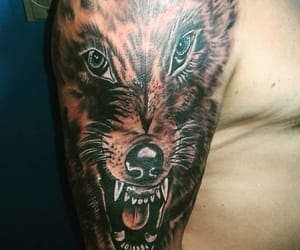 Animales, tattoo, and perros image