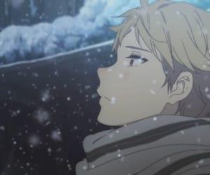 anime, kyoukai no kanata, and aki image