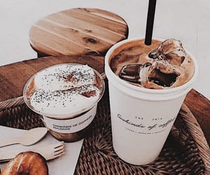 breakfast, caffe, and food image