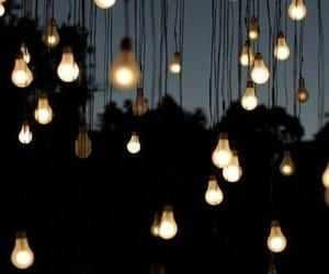 light bulbs, night, and tumblr image