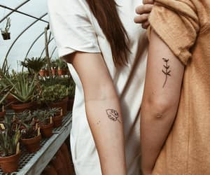aesthetic, Tattoos, and gardening image